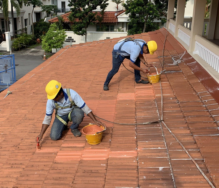Water Leakage Specialist Singapore Roof Works